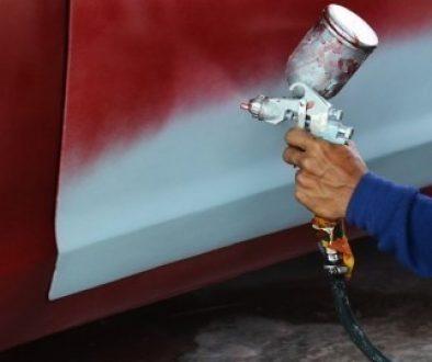 Cars Spray Painting